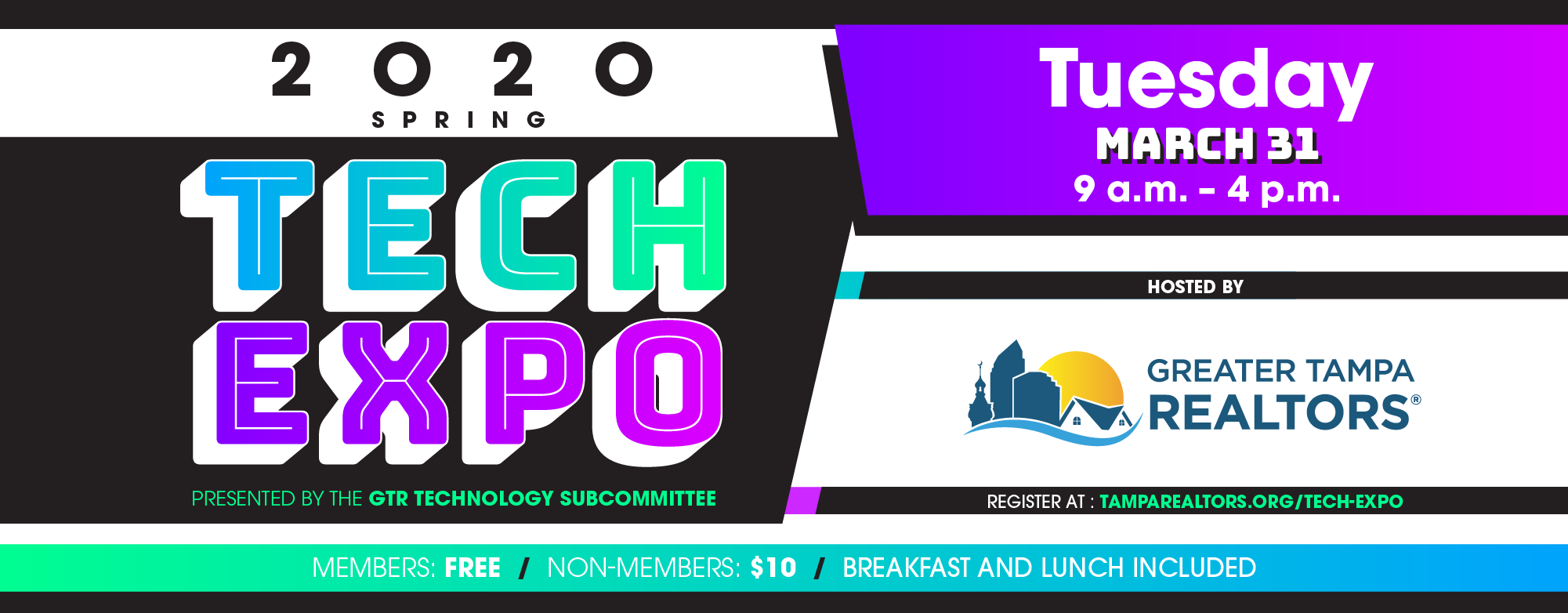 2020 Spring Tech Expo | March 31 | 9 a.m. to 4 p.m.